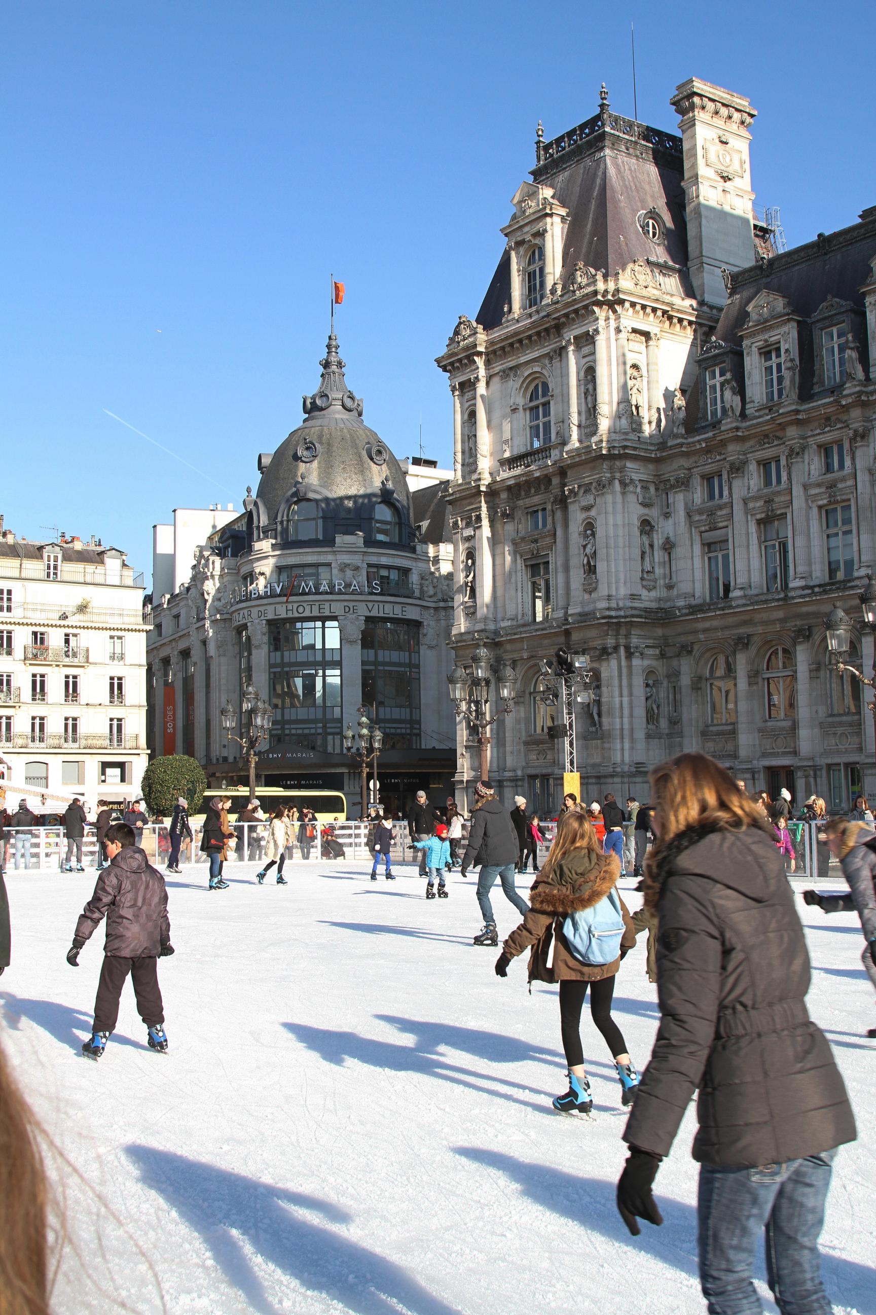 Patinoire de Hotel de Ville de Paris 2015 IMG_7518