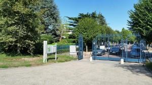 Une entrée du parc de Sceaux